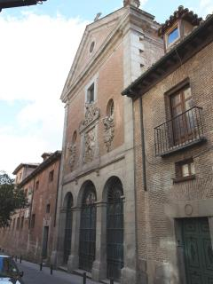 Trinitarians' Convent where's the tomb of Miguel de Cervantes.Writer of DON QUIXOTE.