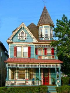 Beautiful House on Beautiful Day