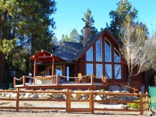 #080 Moonshadows Log Cabin, Big Bear Region