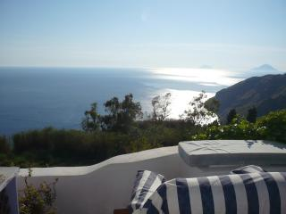 Romantic getaway cottage aeolian islands lipari with private pool