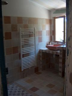 Bathroom with italian shower