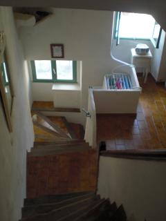 Looking down from Bedroom
