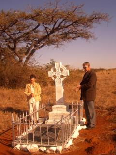 Anglo-boer war cemetry at Coleno +- 2 hr drive.