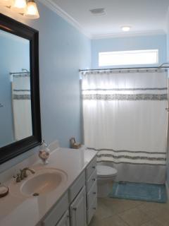 Spa like shared bathroom on the second floor
