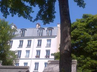Panoramic Paris Montmartre Caulaincourt, París