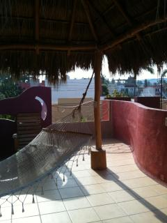 Rooftop palapa