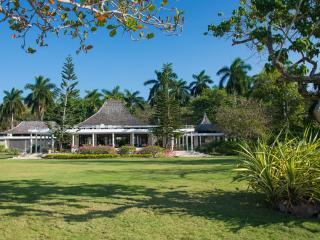 This iconic villa is a unique, sprawling 15,000-square-foot private home with four bedrooms and an excellent staff of nine.