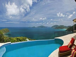 Seated on a generous one- acre lot overlooking a panorama of the Guana Islands. MAT ACE, Tortola