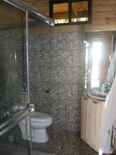 big glass cabin to take a shower 2,80X1,80mts