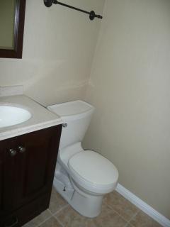 Half bath #2 guest bedroom remodeled