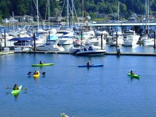 Kayaking on Gig Harbor Bay