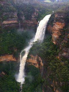 Wentworth Falls after heavy rain