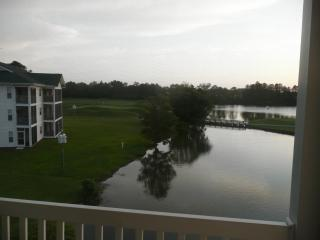 Evening picture lake & #5 green