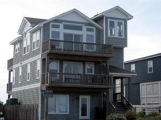 Watch Sun Rise & Fall Over the Ocean & Sound, private pool & hot tub, 100' to Beach. NH13, Nags Head