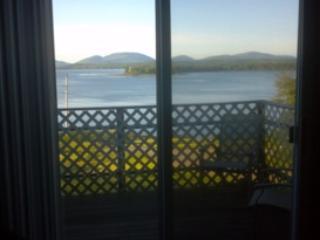 Deck overlooking Acadia