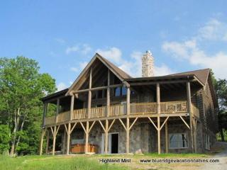 Cabin near Winery*VIEW*Fireplace*HotTub*Pool Table, Banner Elk