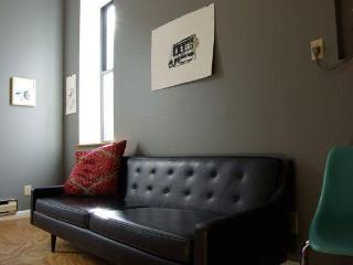 Cherokee Street studio leather couch