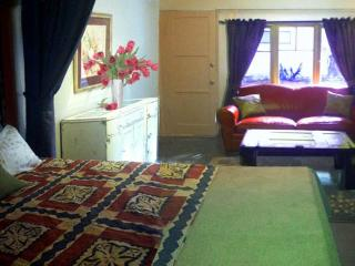 Bedroom and lounge areas can be separated by a curtain