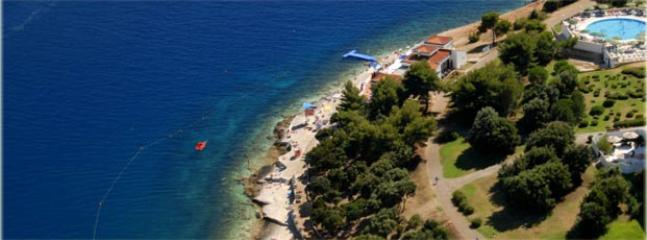 Histria beach, 5 minutes by car, 20 minutes walking distance