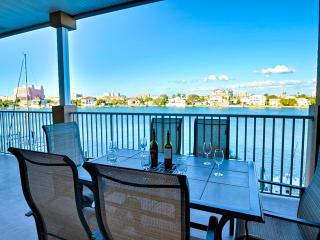Island Key Condos 303 Large Balcony overlooking Bay | Quiet Location on Clearwater Beach