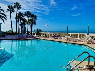 Crescent Beach Club  14B Beachfront Condo, Clearwater