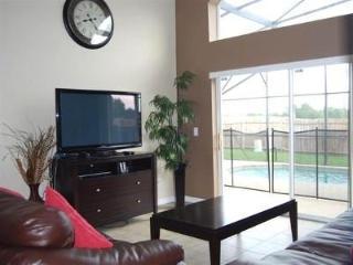 Living Room overlooing Pool Area