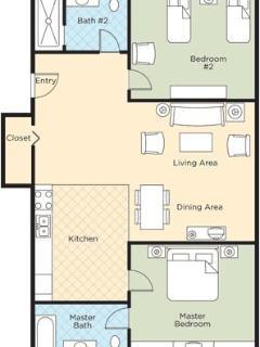 Floorplan - 2br