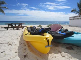 Cayman Brac Beach Villas. Beach Front 2-12 people!