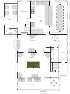 Floor-plan, Main Lodge ground-floor to see these floor plans better, please go to our SmugMug site...
