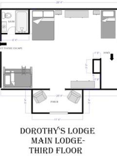 Main Lodge- Third Floor