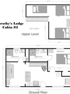 Floor-plan, Cabin #3