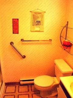 Main Bathroom with stand-up shower