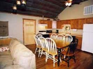 Meadowview suite Dining and Kitchen areas