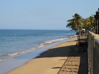 Beachfront Rental in Corcega Beach, Rincon, PR