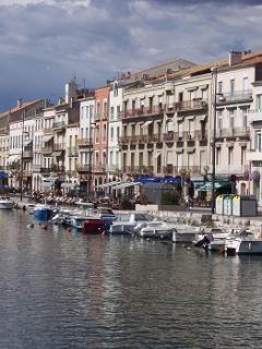 Sete, also a nice Village at the coast