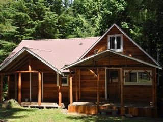 Bob's Cozy Cabin - Riverfront- Hot Tub, Greenwater