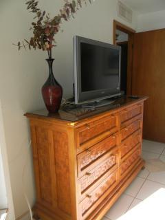 Dresser in master bedroom.