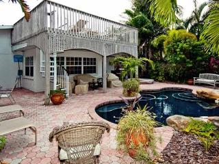 Island Oasis: 2BR Canal Home with Pool & Dock, Anna Maria