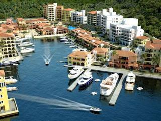 TROPICAL WAVES...Porto Cupecoy, wonderful views of the Marina, St Maarten