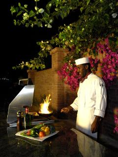 ... over memorable meals created by talented professional Chef Adanaji.