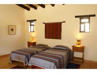 The Cactus suite made up with two twin beds