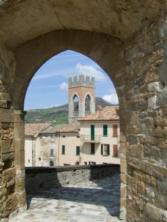 Medieval town Monte Cerignone