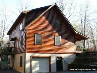 Big Six Bdrm Cabin*Pool Table*Ping Pong*Large Yard, Valle Crucis