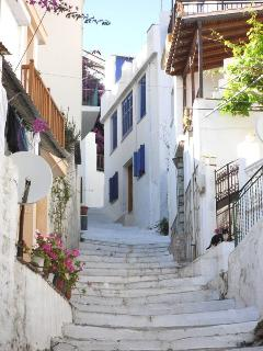 Stairs to house - Traditional Village Streets