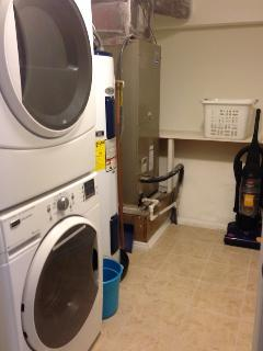 Full size commercial Washer & Dryer