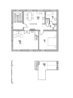 The plan of the apartment.