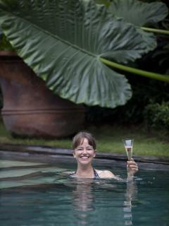 Lush tropical gardens, large pool and all the pleasures of Bali at your fingertips