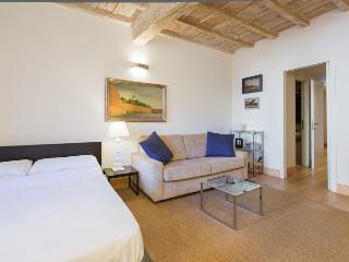 In Rome's Historic Center, Modern Comfort, and Style in a Studio near Piazza