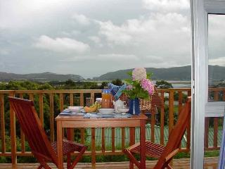 A Healthy breakfast on your own private deck