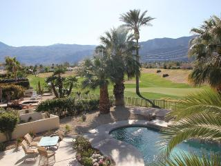Golf course villa with private pool and spa, La Quinta